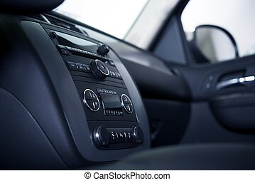 Car Dashboard and Interior - Modern Car Dashboard and...