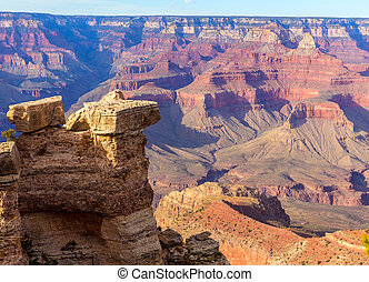 Arizona, Grandiose, canyon, national, Parc, mère,...