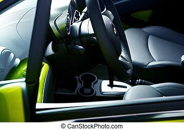 City Car Interior - Small City Car Interior Modern Vehicle...