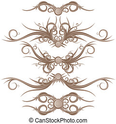 Gothic Borders and Design Elements