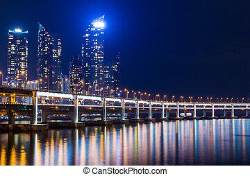 都市, 韓国, 南,  busan