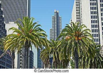San Francisco, CA - San Francisco, California - Downtown...
