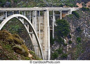 Bixby Creek Bridge - Caliofrnia Bixby Creek Bridge Closeup...