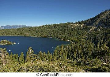 Lake Tahoe Sierra Nevada - Lake Tahoe in Sierra Nevada...