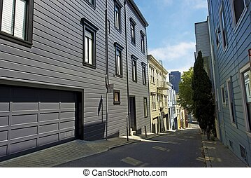 San Francisco Architecture Residential Area Living in San...