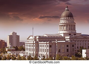 Salt Lake City Capitol - Salt Lake City - Utah Capitol...