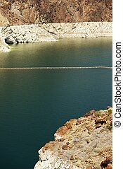 Lake Mead Water Level Vertical Photo Nevada - Arizona...