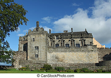 Stirling Castle in Stirling, Scotand