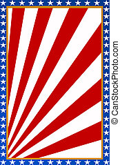 USA background - USA style background