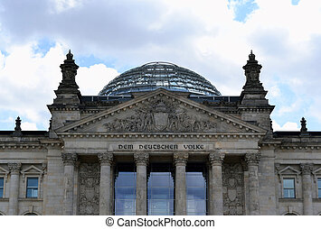bundestag - The Reichstag building is a historical edifice...