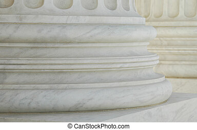 Columns - close up of marble columns