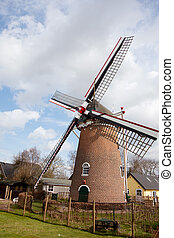 Windmill in Holland Doetinchem