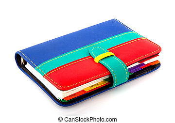 Organizer - Colorful organizer for all your goals