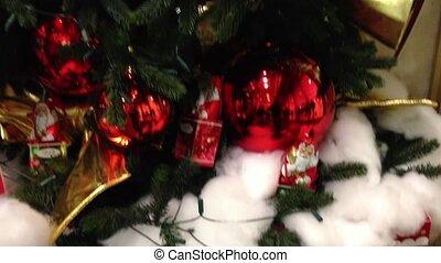 Christmas tree - Decorated christmas tree