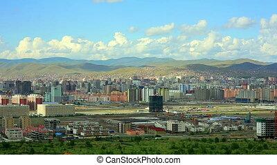 Ulaanbaatar cityscape, Mongolia - Ulaanbaatar cityscape...