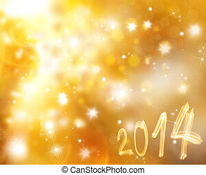 Abstract New year background - Abstract New year blurred...