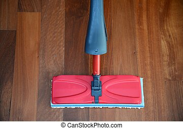 Mop - A close up shot od a floor mop