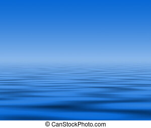 blue abstract background with wave