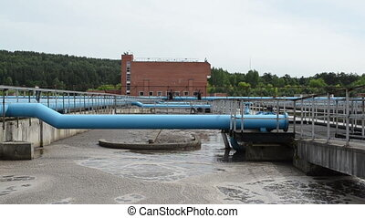 modern water treatment - Modern treatment cleaning plant...