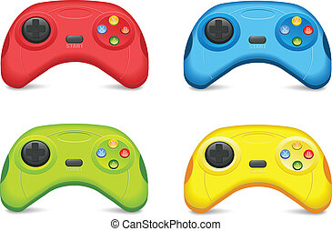 Color Gamepad Set