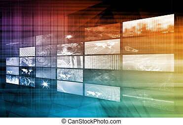 Internet Multimedia Sharing and Viewing as Concept