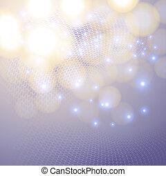 Purple Christmas background.