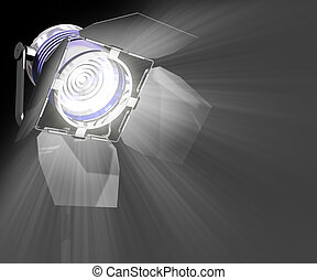 Spotlight - Image concept of something of important