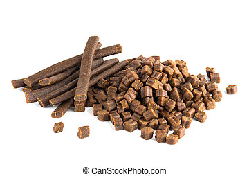 Dog Treats - Dog treats isolated on white background