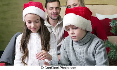 No Quarrels - Children arguing over a cool Christmas...