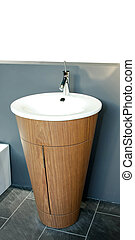 Wash basin - Interesting shape of self standing wash basin