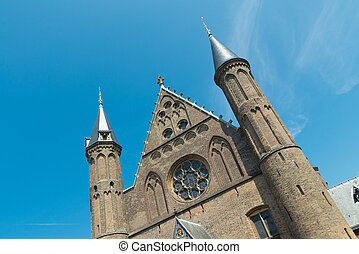 edificio, Parlamento, holandés