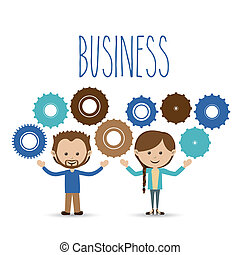 business design over white background vector illustration