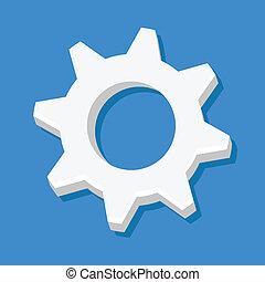 Vector Cog Icon