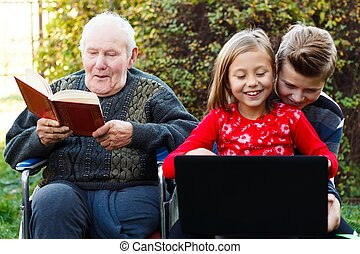Young-old lifestyle contrast - Two possibilities of...