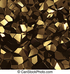Abstract cosmic geometric polygon background - Abstract...