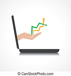up & down arrows comes from laptop