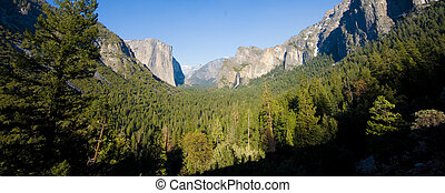 Tunnel View - One of the most famous views in Yosemite From...