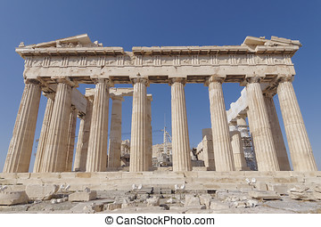 Parthenon temple, Athens Greece - Parthenon ancient temple,...