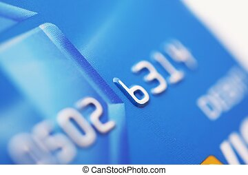 Debit Card - Digital Payments Processing System. Bank Card....