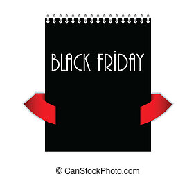special black friday with metallic spiral