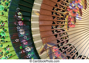 Spanish Fans - Colorful Spanish fans for sale in Sevilla,...