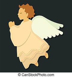 Angel in Prayer_boy