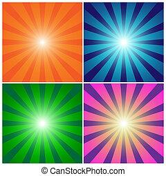 Rays background set