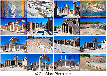Pompeii - Collection of beautiful photos in Pompeii, Italy