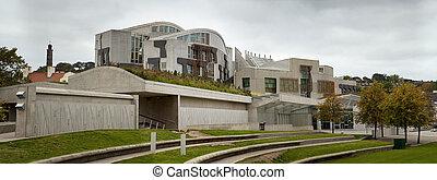Scottish Parliament exterior