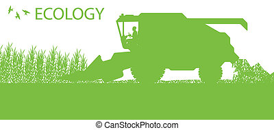 lantbruk, förena, skördearbetare,...