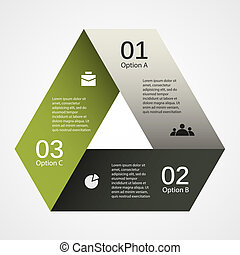 Modern vector template for your business project