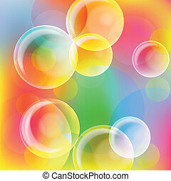 Abstract light vector background for poster - Abstract light...