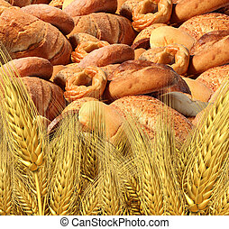 Wheat Bread Harvest - Wheat bread harvest food and...