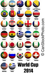 World cup 2014 - Hi-res original rendered computer generated...